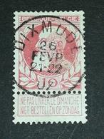 COB N ° 74 Oblitération Dixmude 07 - 1905 Grosse Barbe