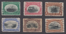 USA 1901 - Pan-American Exposition COMPLETE SET - Usati