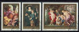 *Liechtenstein 1976 // Mi. 655/657 O - Rubens