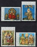 *Liechtenstein 1976 // Mi. 662/665 O - Weihnachten