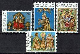 *Liechtenstein 1976 // Mi. 662/665 ** - Weihnachten