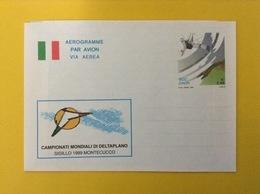 1999 ITALIA AEROGRAMMA POSTALE NUOVO NEW MNH*** CAMPIONATI MONDIALI DELTAPLANO MONTECUCCO - Interi Postali