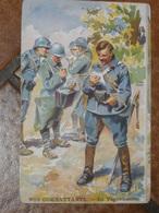 WW1. NOS COMBATTANTS. LE VAGUEMESTRE - Guerre 1914-18