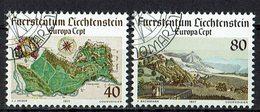 *Liechtenstein 1977 // Mi. 667/668 O - Europa-CEPT