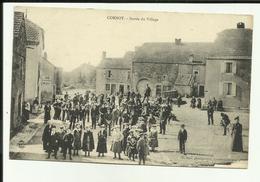 70 - Haute Saone - Cornot - Sortie Du Village  - Animée - Beau Plan - - Frankreich