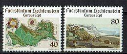 *Liechtenstein 1977 // Mi. 667/668 ** - Europa-CEPT
