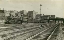 130619B - PHOTO HERMANN L - Train Chemin De Fer Locomotive - 2116 - Stations With Trains