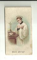 "4238 ""SAN LUIGI-ORAZIONE A SAN LUIGI GONZAGA-1898""  ORIG. - Santini"
