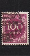 GERMANY REICH [1923] MiNr 0268 A ( O/used ) - Deutschland