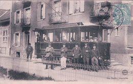 France 54, Longwy, Chemin De Fer, Tramway (2.11.1906) - Longwy