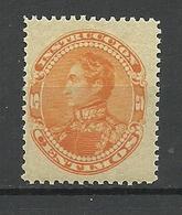 VENEZUELA 1904 Revenue Tax Steuermarke Simon Bolivar 5 C. MNH - Venezuela