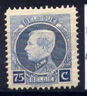 BELGIQUE - 213** - ALBERT 1er - 1922-1927 Houyoux