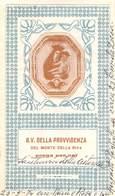 """08216 """"B. V. DELLA PROVVIDENZA DEL MONTE DELLA RIVA - SANTUARIO DELLA CISTERNA IN ZOCCA (MO)"""" IMM. RELIG. ORIG. - Santini"""