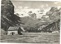 W3407 Ayas (Aosta) - Champoluc - Pian Di Verra - Panorama Col Monte Rosa / Non Viaggiata - Altre Città