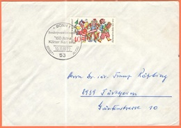 GERMANIA - GERMANY - Deutschland - ALLEMAGNE - 1972 - 40 150 Jahre Kölner Karneval - Bonn  - FDC - Viaggiata Da Bonn Per - [7] Repubblica Federale
