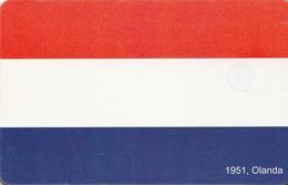 TARJETA TELEFONICA DE RUMANIA, (CHIP). EU - 1951 FLAG HOLANDA. ROM-0386. (009) - Romania