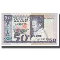 Billet, Madagascar, 50 Francs = 10 Ariary, KM:62a, NEUF - Madagascar
