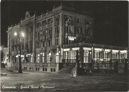 W3425 Cesenatico (Forlì Cesena) - Grand Hotel - Notturno Notte Nuit Night Nacht Noche / Viaggiata 1956 - Italie