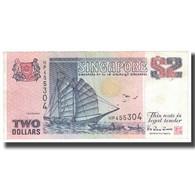 Billet, Singapour, 2 Dollars, KM:28, SPL - Singapour