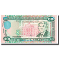 Billet, Turkmanistan, 1000 Manat, 1995, KM:8, NEUF - Turkménistan