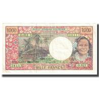 Billet, French Pacific Territories, 1000 Francs, KM:2a, SUP - Papeete (Polynésie Française 1914-1985)