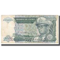 Billet, Zaïre, 100,000 Zaïres, 1992, 1992-01-04, KM:41a, TTB - Zaïre