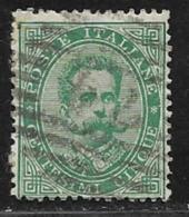 Italy Scott # 45 Used Humbert L, 1879 - Used