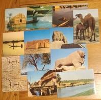 IRAK Lot De 34 Cartes Postales Des Années 70-80 CPSM/CPM -Non écrites - Ninive Nemrod Samarra Mossoul Ziggourat ...... - Cartes Postales