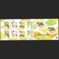 (ja0810) Japan 2016 Greetings Autumn 82y MNH Bear Squirrel Grape Raccoon Dog - 1989-... Emperor Akihito (Heisei Era)