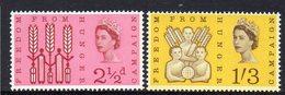 GREAT BRITAIN, 1963 FREEDOM FROM HUNGER 2 MNH - Ongebruikt