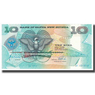 Billet, Papua New Guinea, 10 Kina, KM:17a, NEUF - Papouasie-Nouvelle-Guinée
