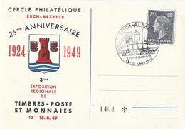 Luxembourg, Cercle Philatélique Esch-Alzette 1924-1949 - Exposition Timbres Poste Et Monnaies - Briefe U. Dokumente