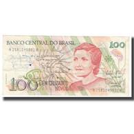 Billet, Brésil, 100 Cruzados Novos, KM:220b, TB - Brasilien