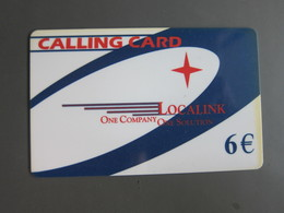 Localink Prepaid Card,used - Spanje