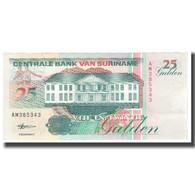 Billet, Surinam, 25 Gulden, 1998, 1998-02-10, KM:138a, NEUF - Surinam