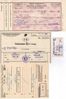 Europe, 1980, Lot Of 13 International Train Tickets - Hungary, Austria, Switzerland, UK, Italy, Belgium, France, Germany - Transportation Tickets