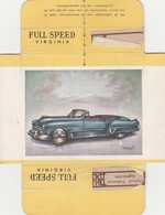 FULL SPEED VIRGINIA Nr 121, Cadillac 1948 USA - Cigarette Cards