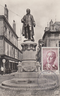 Carte  Maximum  1er  Jour    FRANCE    Denis   DIDEROT    LANGRES   1958 - 1950-59