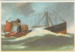 TJEPMA ( MA2 ) Maassluis1902 , Captain Grant Virginia Cigarettes - Cigarette Cards