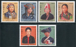 233 - Laos 2000  YT 1387A-F ; Mi# 1710-15 **  MNH  Costumes Of The Tribes (I) - Laos