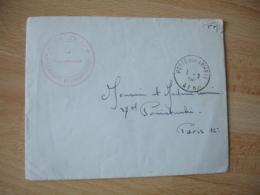 Guerre Algerie 11 Em D I  A F N Lettre En Franchise Postale - Marcophilie (Lettres)