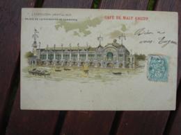 Cafe Malt Kneipp  Sur Carte Exposition Universelle 1900 - Werbepostkarten