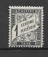 France Timbres Taxe De 1882 N°10   Neufs ** - 1859-1955 Usati