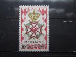 VEND BEAU TIMBRE DE MONACO N° 490 , XX !!! (a) - Ongebruikt
