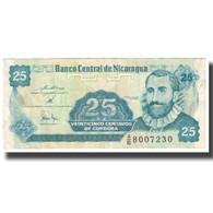 Billet, Nicaragua, 25 Centavos, KM:170a, SPL - Nicaragua