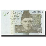 Billet, Pakistan, 5 Rupees, KM:52, NEUF - Pakistan