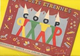"""Catalogue 1948 Jouets Etrennes """"COOP"""" 14 Pages + Couverture Format 21 X 27 Cm Env.. - France"""