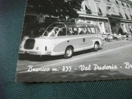 CORRIERA PULLMAN AUTO CAR BRUNICO VAL PUSTERIA BRUNECK PUSTERTAL  HOTEL POSTA PIEGA ANG. - Autobus & Pullman
