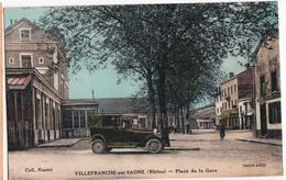 VILLEFRANCHE SUR SAONE-PLACE DE LA GARE - Villefranche-sur-Saone