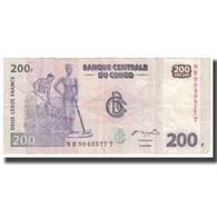 Billet, Congo Democratic Republic, 200 Francs, 2007, 2007-07-31, KM:95a, TTB - Congo